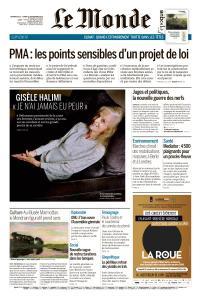 Le Monde du Dimanche 22 et Lundi 23 Septembre 2019