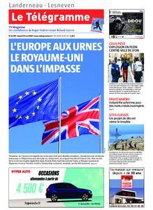 Le Télégramme Landerneau - Lesneven – 25 mai 2019
