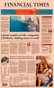 Financial Times Europe – 02 September 2019