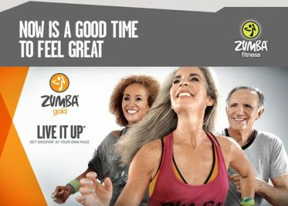 Zumba - Gold: Live It Up [repost]