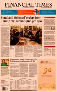 Financial Times UK – 21 November 2019