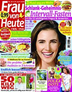 Frau von Heute – 24. April 2020