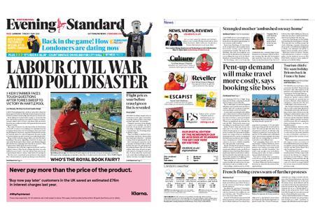 London Evening Standard – May 07, 2021