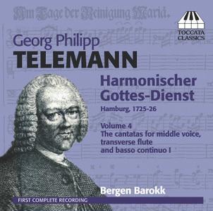 Bergen Barokk - Telemann: Harmonischer Gottes-Dienst, Vol. 4 (2012)