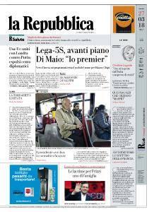la Repubblica - 27 Marzo 2018