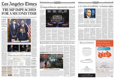 Los Angeles Times – January 14, 2021