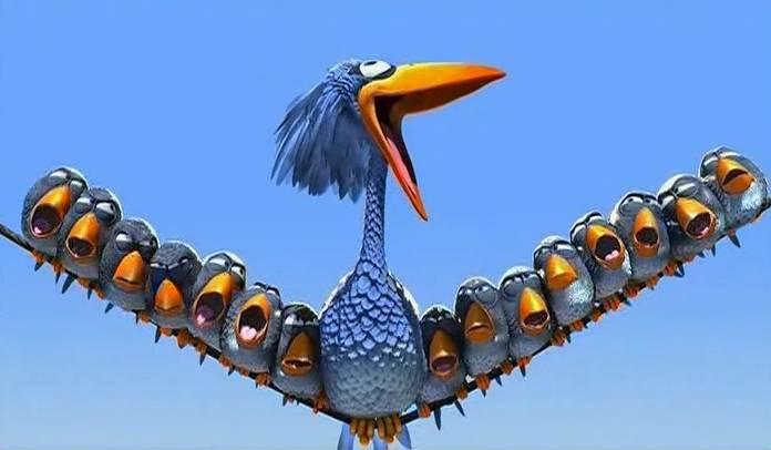 Cartoon - For the Birds