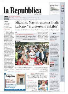 la Repubblica - 24 Giugno 2018