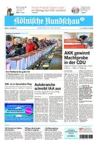 Kölnische Rundschau Wipperfürth/Lindlar – 23. November 2019