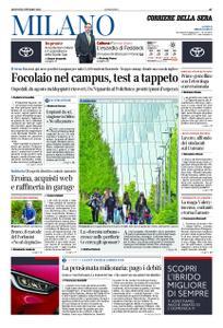 Corriere della Sera Milano – 08 ottobre 2020