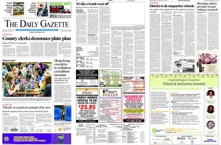 The Daily Gazette – September 05, 2019