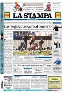La Stampa - 3 Ottobre 2017