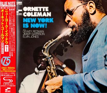 Ornette Coleman - New York Is Now! (1968) {Blue Note Japan SHM-CD TYCJ-81060 rel 2014} (24-192 remaster)