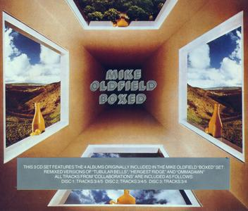 Mike Oldfield - Boxed (1976) {Virgin CDBOX1 - 3CD 1989 Issue rec 1972-1975}