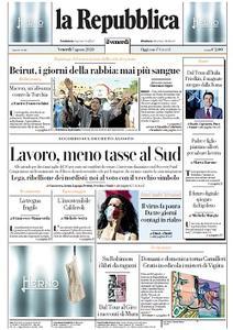 la Repubblica - 7 Agosto 2020