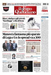 Il Fatto Quotidiano - 03 ottobre 2018