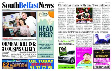 South Belfast News – November 15, 2018