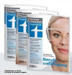 Finanztest Magazin Jahrgang 2001 bis 2008