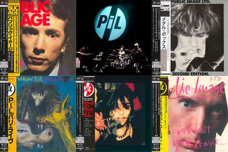 Public Image Limited - Japanese SHM-SACD Reissue Series 2015 (5x SACD, 1978-1984) [PS3 ISO + Hi-Res FLAC]