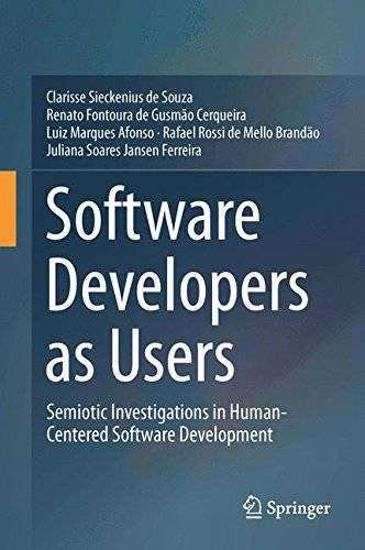 Software Developers as Users: Semiotic Investigations in Human-Centered Software Development [Repost]