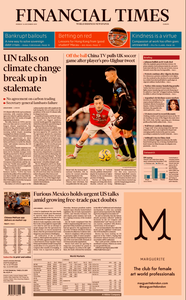 Financial Times Europe – 16 December 2019