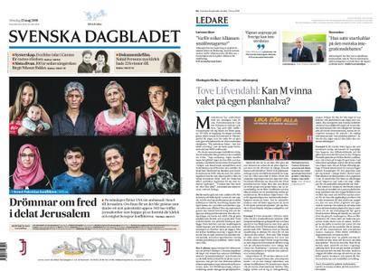 Svenska Dagbladet – 13 maj 2018