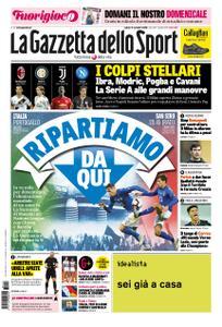 La Gazzetta dello Sport Roma – 17 novembre 2018