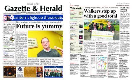 Gazette & Herald – November 30, 2017