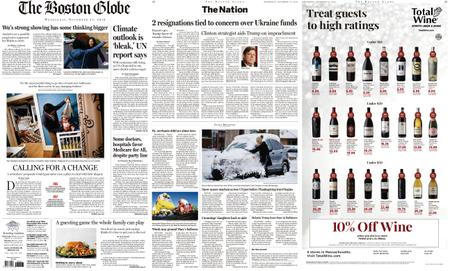 The Boston Globe – November 27, 2019