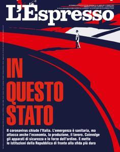 L'Espresso - 15 marzo 2020