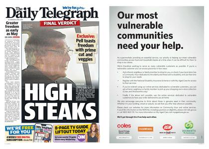 The Daily Telegraph (Sydney) – April 08, 2020