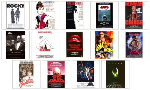 14 HQ Movie Posters III - Classic Movies