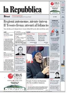 la Repubblica - 15 Febbraio 2019
