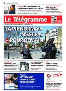 Le Télégramme Ouest Cornouaille – 08 avril 2020