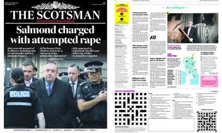 The Scotsman – January 25, 2019