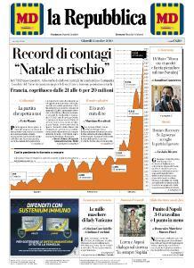 la Repubblica - 15 Ottobre 2020