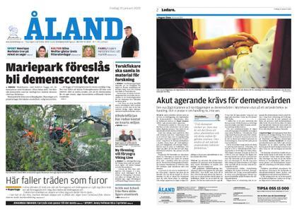 Ålandstidningen – 10 januari 2020