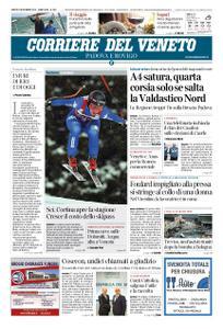 Corriere del Veneto Padova e Rovigo – 09 novembre 2019