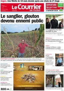 Le Courrier de l'Ouest Angers - 11 août 2018