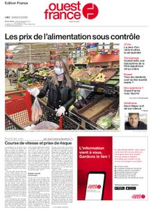 Ouest-France Édition France – 10 avril 2020