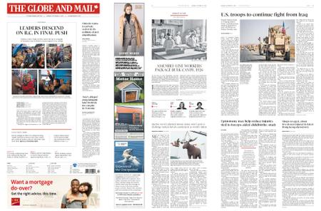The Globe and Mail – October 21, 2019