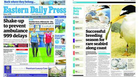 Eastern Daily Press – October 10, 2017