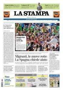 La Stampa Imperia e Sanremo - 12 Agosto 2018