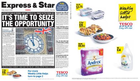 Express and Star Sandwell Edition – January 31, 2020