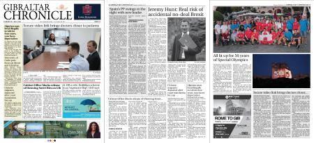 Gibraltar Chronicle – 24 July 2018