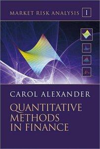 Market Risk Analysis: Quantitative Methods in Finance (Volume 1) (repost)