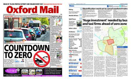 Oxford Mail – October 11, 2017