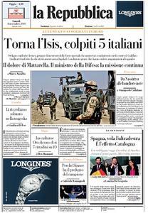la Repubblica - 11 Novembre 2019