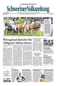 Schweriner Volkszeitung Hagenower Kreisblatt - 17. September 2018