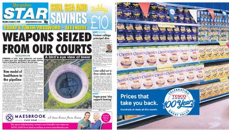 Shropshire Star Shrewsbury Edition – January 07, 2019